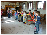 großer Andrang beim Boomwhracker Workshop
